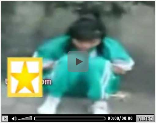 外人いじめ動画4