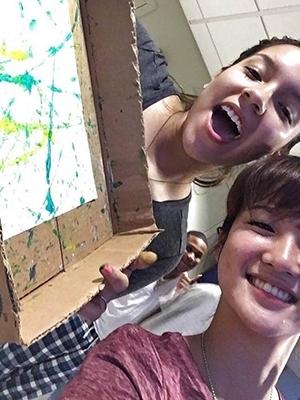 【画像】海外に語学留学した日本人女さん、とんでもない姿を外人に晒される・・・(素人)